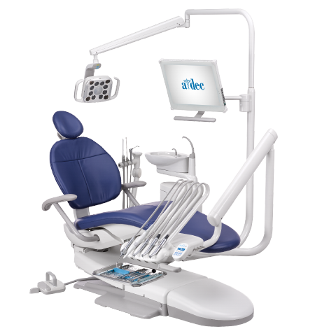 A-dec 300 dental chair operatory package