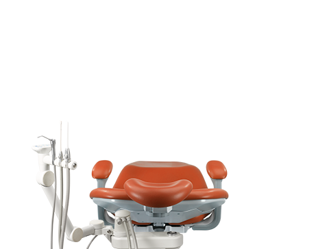 A-dec performer dental chair with assistant instrumentation