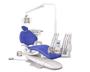 A-dec 500 dental equipment package with Pacific upholstery thumb